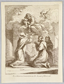 view Three Saints, the Virgin and Child in the Clouds digital asset number 1