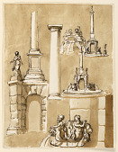 view Fountains; architectural details digital asset number 1