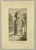 view A Monument for the Poet Christoph Fürchtegott Gellert (1715–1769) by Adolph Friedrich Oeser (1717–1799) digital asset number 1