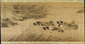view Landscape with birds and flowers in the four seasons digital asset number 1