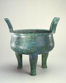view Ritual cooking vessel (<em>ding</em>) digital asset number 1