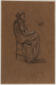 view Female Figure, Seated digital asset number 1