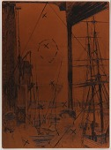 view Etching plate: Rotherhithe digital asset number 1