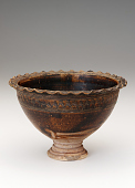 view Pedestal-footed bowl with interior stand digital asset number 1