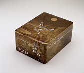 view Japanese Lacquer Imperial Presentation Box digital asset number 1