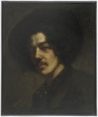 view Portrait of Whistler with a Hat digital asset number 1