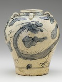 view Zhangzhou ware jar with dragon design digital asset number 1