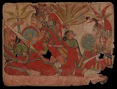 view Lakshmana Cuts the Nose of the Demoness Surpanakha, from a Ramayana digital asset number 1