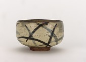 view Tea bowl with design of pampas grass digital asset number 1