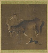 view A Tartar, an emaciated horse, and a dog digital asset number 1