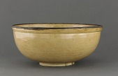 view Bowl with incised design of fish and waves, Ding-type ware digital asset number 1