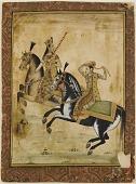 view A Prince and princess on horseback digital asset number 1