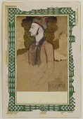 view Portrait of Ibrahim Adil Shah II, of Bijapur (d.1626) (?) digital asset number 1