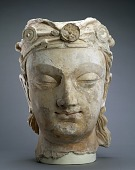 view Head of a Bodhisattva digital asset number 1