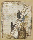 view The Heavenly Ladder: illustration from a Klimax manuscript digital asset number 1