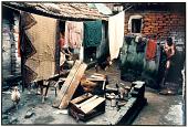view A Man Bathes and Women Do Chores, Calcutta, 1987 digital asset number 1