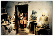 view Sculptors and their Works, Banaras, 1987 digital asset number 1