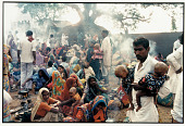 view A Father and Sons at the Lolarka Shashti, Banaras, 1986 digital asset number 1