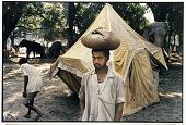 view Villager with Bundle, Sonepur, 1988 digital asset number 1