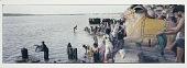 view Ablutions at Gai Ghat, Banaras, 1987 digital asset number 1