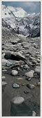 view Porter Naps at Source of Ganges: Gaumukh, Below Bhagiratti Peaks, 1989 digital asset number 1