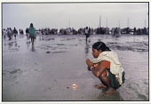 view Prayers before an Oil Lamp, Ganga Sagar digital asset number 1
