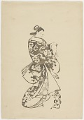 view Modern print from a woodblock (F1904.345) digital asset number 1