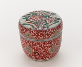 view Mimpei ware powdered tea caddy (<em>natsume</em>) digital asset number 1