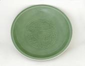 view Jingdezhen ware dish digital asset number 1