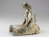 view Roof tile with figure of lion digital asset number 1