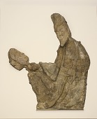 view Figure of Wei Mo Chi from the Longmen Grottoes digital asset number 1