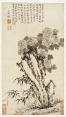view Chrysanthemum, Bamboo, and Rock digital asset number 1