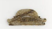 view Semi-circular plaque with dragon heads at ends digital asset number 1