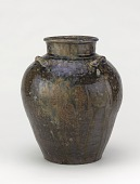 view Tamba ware tea-leaf storage jar digital asset number 1