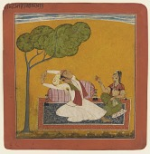 view <i>Vihagra Raga-Putra son of Sri Raga</i> from a <i>Ragamala</i> digital asset number 1