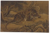 view Tiger Under Snowy Pines digital asset number 1