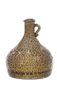 view Maiko-ware ewer with design of pine trees and sails digital asset number 1