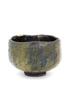 view Tea bowl in style of Ohi ware digital asset number 1