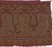 view Fragment of the border of a cashmere shawl digital asset number 1