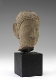 view Head of the Buddha (usnisa cut off) digital asset number 1
