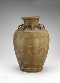 view Jar with eight vertical lugs, incised and applied decoration digital asset number 1