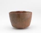 view Tea bowl in style of Kaga Koetsu, unknown Raku ware workshop digital asset number 1