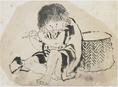 view Boy Playing Flute digital asset number 1