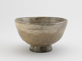 view Tea bowl, possibly Agano ware digital asset number 1