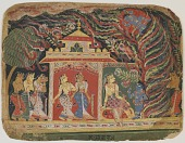 view <i>Krishna Defeats Trinavarta, the Demon Whirlwind, </i>from a <i>Bhagavata Purana<i> (Book of the Lord) digital asset number 1