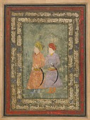 view Two Persian noblemen digital asset number 1