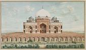 view Tomb of Emperor Humayun at Delhi digital asset number 1