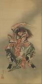 view Zhong Kui (Shoki) killing a demon digital asset number 1
