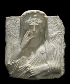 view Funerary relief bust digital asset number 1