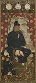 view Portrait of Fujiwara no Kamatari (614-669), accompanied by two sons digital asset number 1